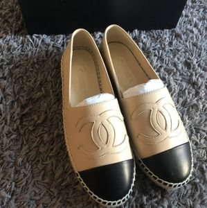 Chanel Espadrilles EU 37 Beige/Black